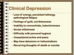 clinical depression1