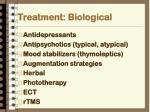 treatment biological