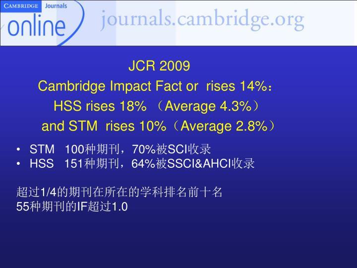 JCR 2009