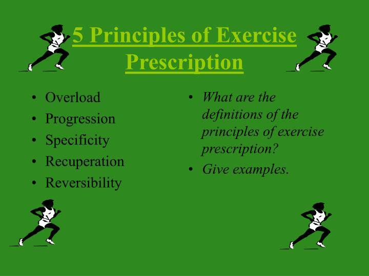 Ppt Personal Exercise Prescription Webquest Powerpoint