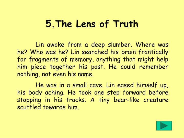 5.The Lens of Truth
