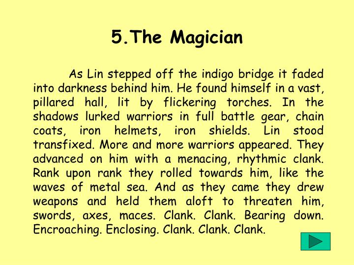5.The Magician
