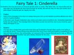 fairy tale 1 cinderella