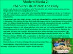 modern media 2 the suite life of zack and cody