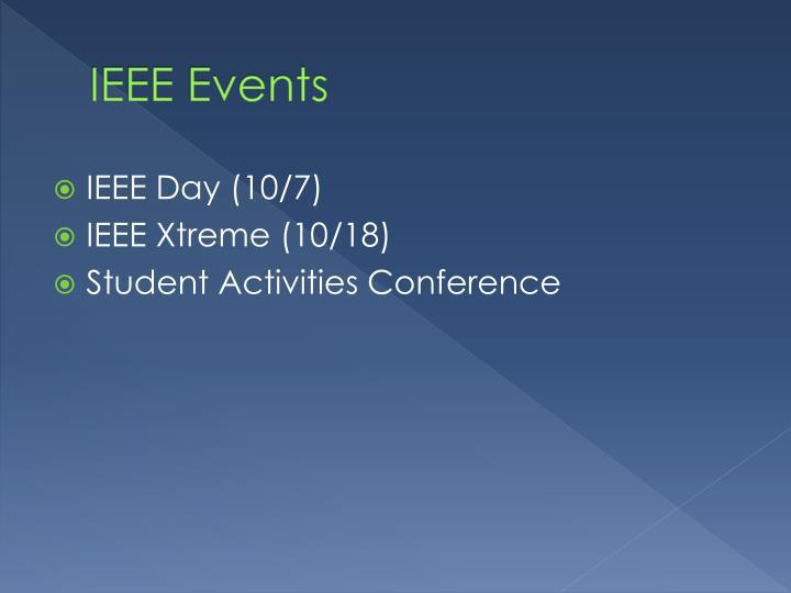 IEEE Events
