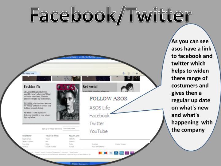 Facebook/Twitter