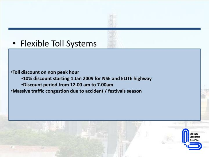 Flexible Toll Systems
