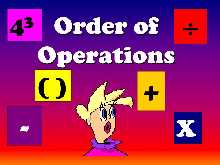 Ppt order of operations (bedmas) powerpoint presentation id.