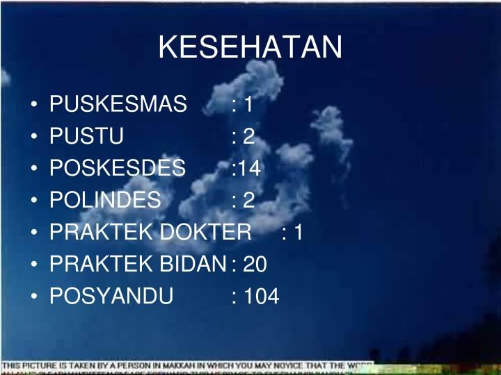 KESEHATAN
