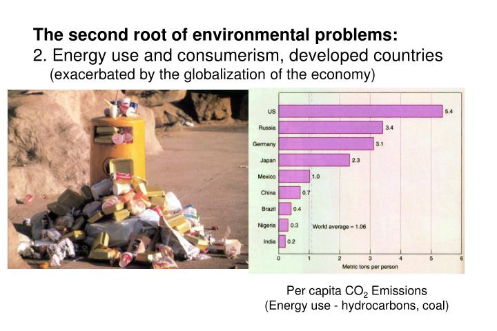The second root of environmental problems: