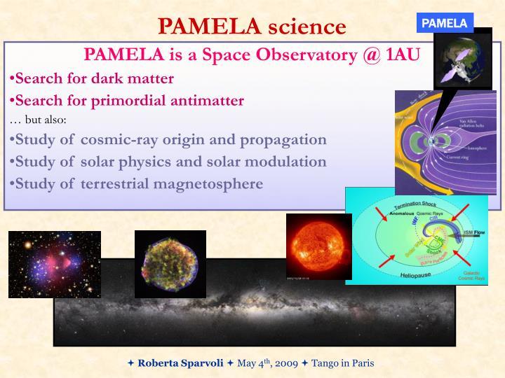 Pamela science