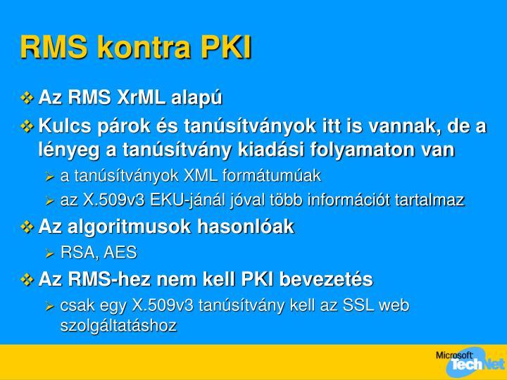 RMS kontra PKI