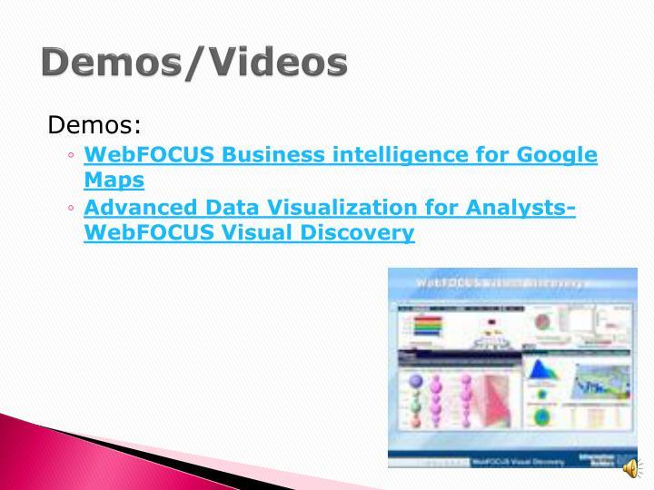 Demos/Videos
