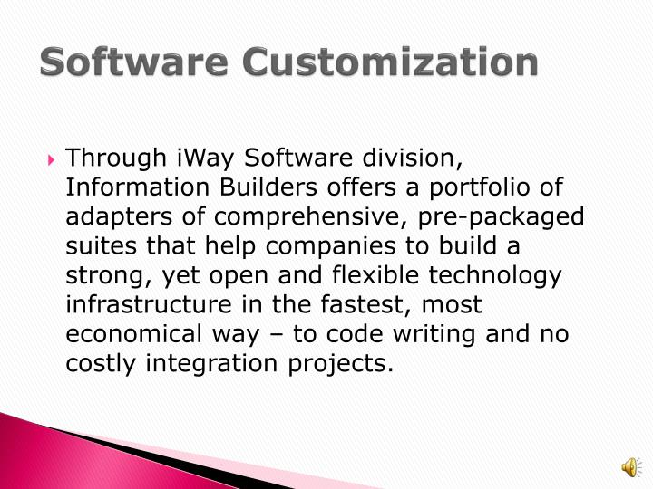 Software Customization