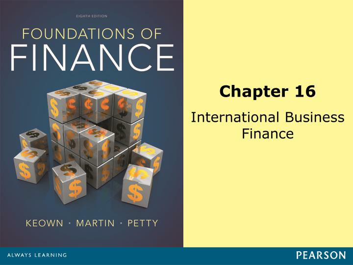 chapter 12international financing and national capital Ation of intermediate financial management  capital structure  excel as well as give you valuable insights into the financial issues covered in the chapter.