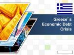 greece s economic debt crisis