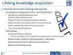 lifelong knowledge acquisition1