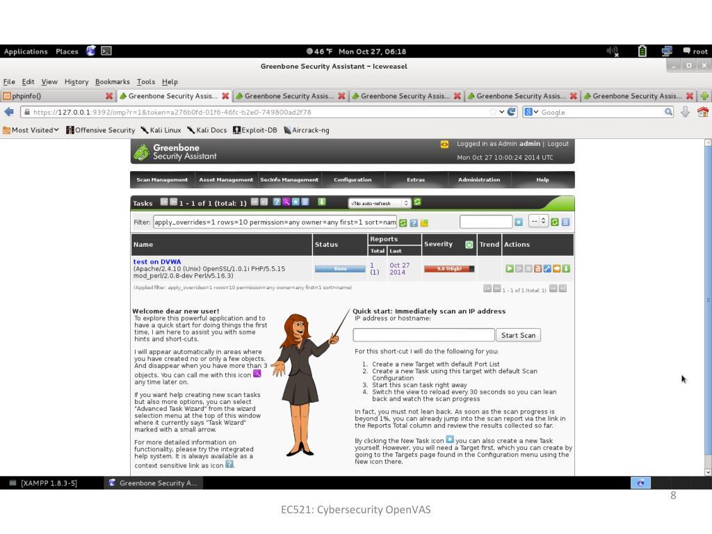 PPT - OpenVAS Vulnerability Test PowerPoint Presentation