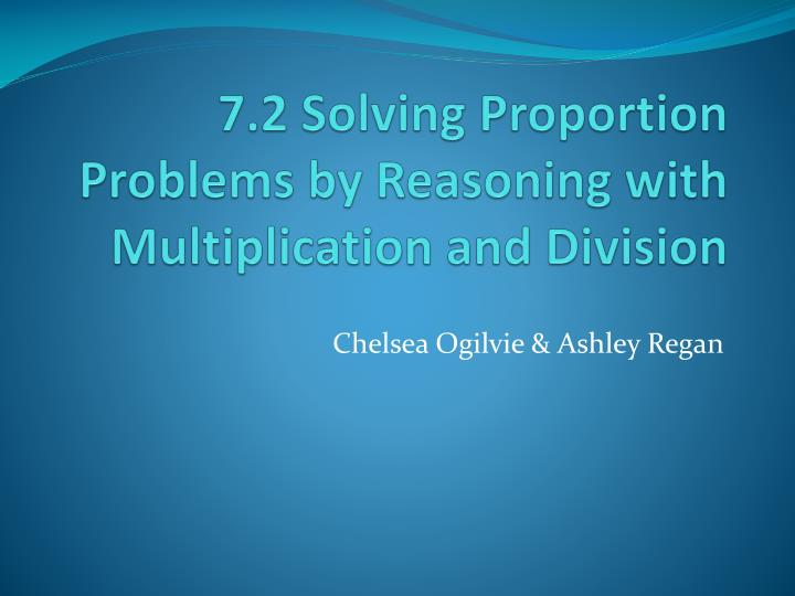 solving proportions 2 essay This assignment is due tonight has to be 2 pages and formatted apa 6th addition style the attatchment has all instructions and details document preview: solving proportions read the following instructions in order to complete this assignment: solve problem 56 on page 437 of elementary and intermediate algebra.