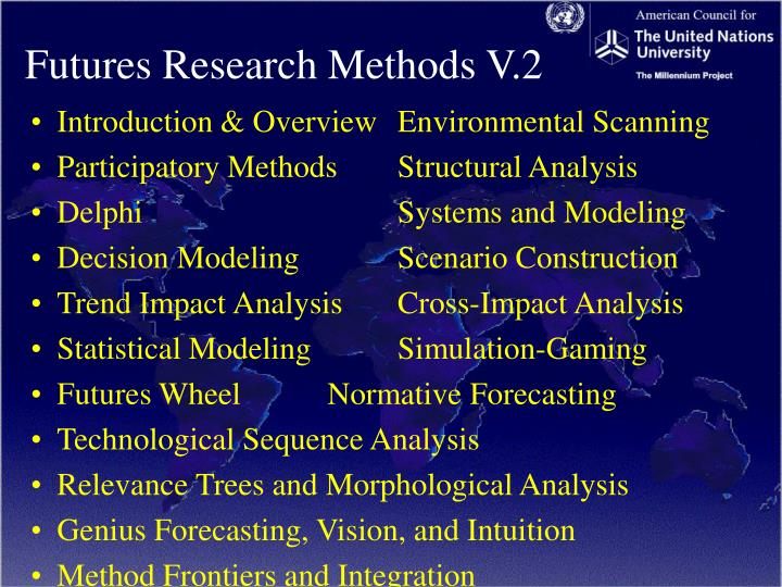 Futures Research Methods V.2