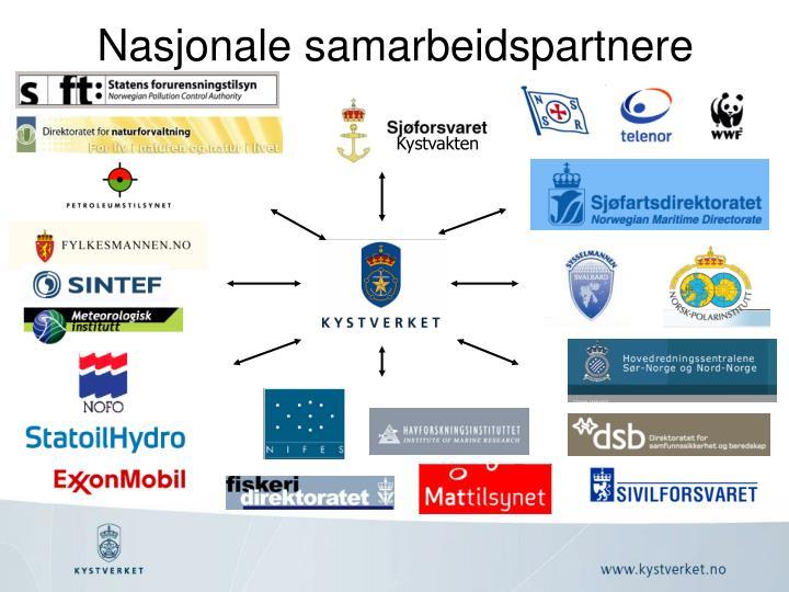 Nasjonale samarbeidspartnere