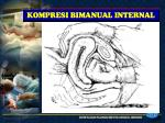 kompresi bimanual internal
