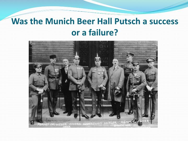 success and failure of the nazi The early german success in wwii was due to the fact that germany was much more ready to go to war and had been planning for a war for years by contrast, the allies had simply been hoping that no.