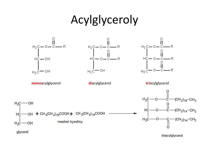 Acylglyceroly