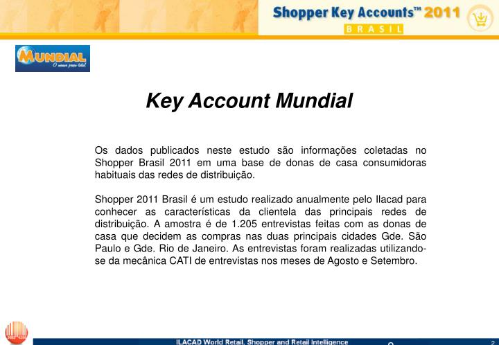 Key Account Mundial