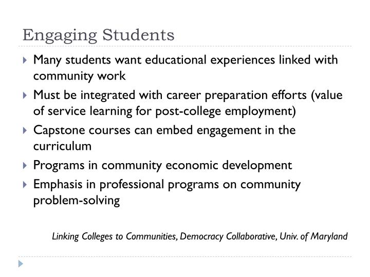 Engaging Students