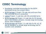 cdisc terminology