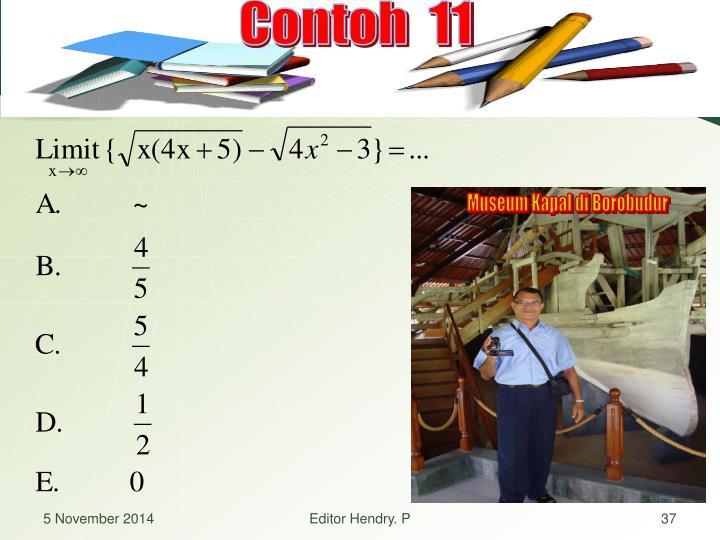 Contoh  11