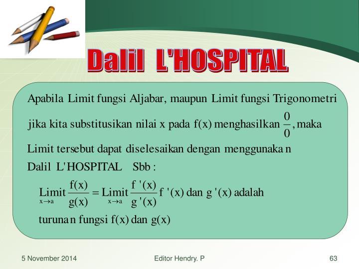 Dalil  L'HOSPITAL