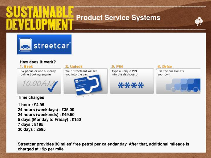 Product Service Systems