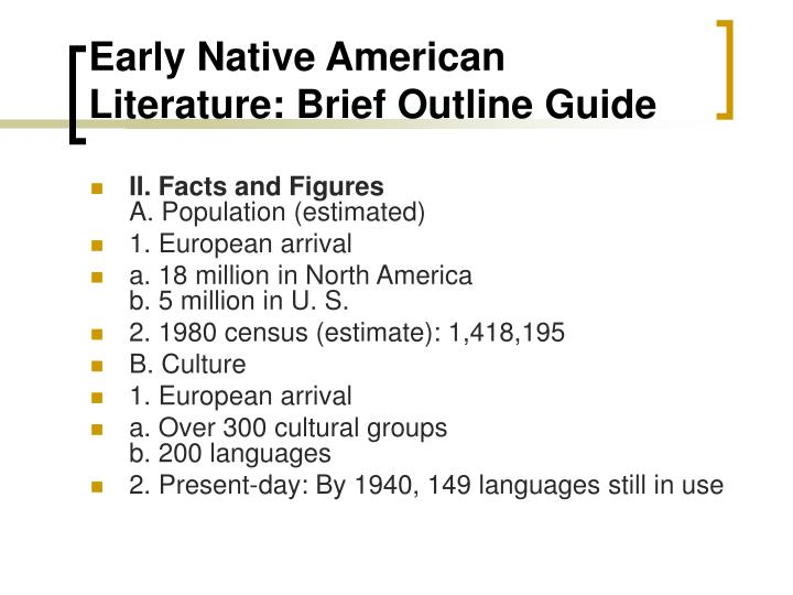 thesis statement native american essay Native americans never came in hispanic and native americans culture in california thesis statements - slidesharenetthesis statement the good thesis statements: native americans have made valuable contributions to.