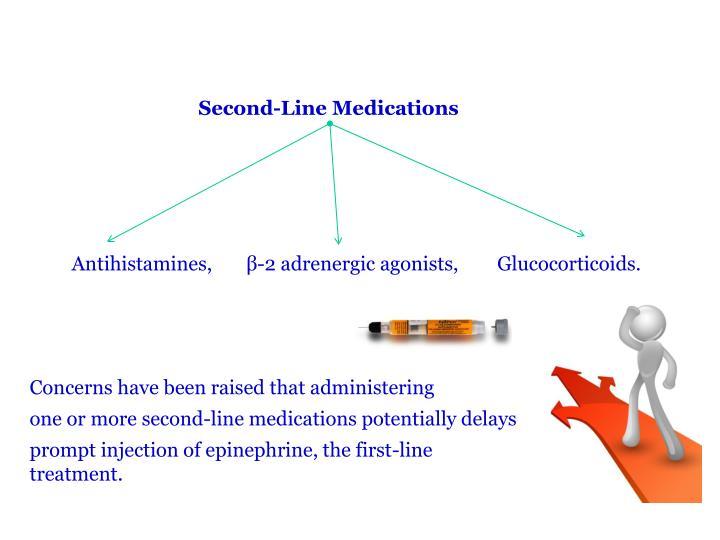 Second-Line Medications