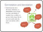 connotation and denotation1