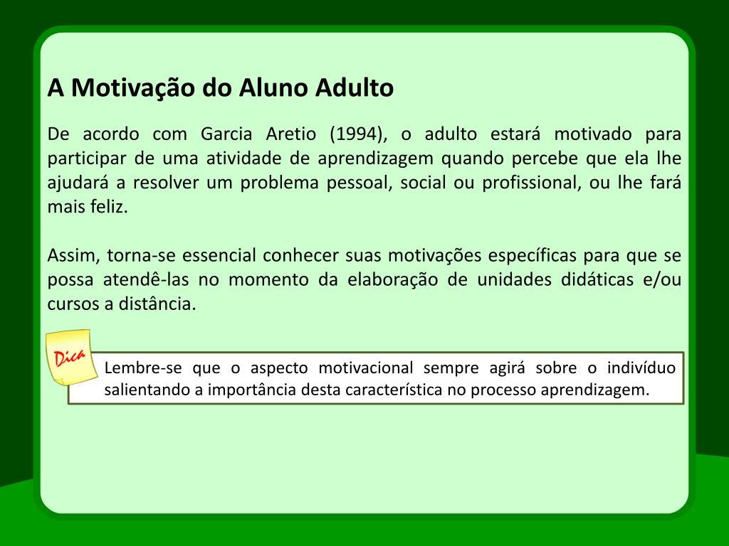 Ppt Motivação E Expectativas Powerpoint Presentation Id