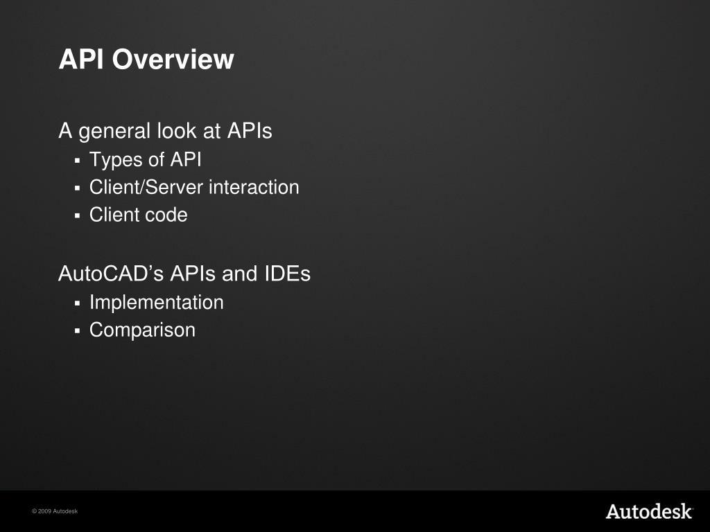 PPT - ObjectARX 2010 Autodesk Developer Technical Services