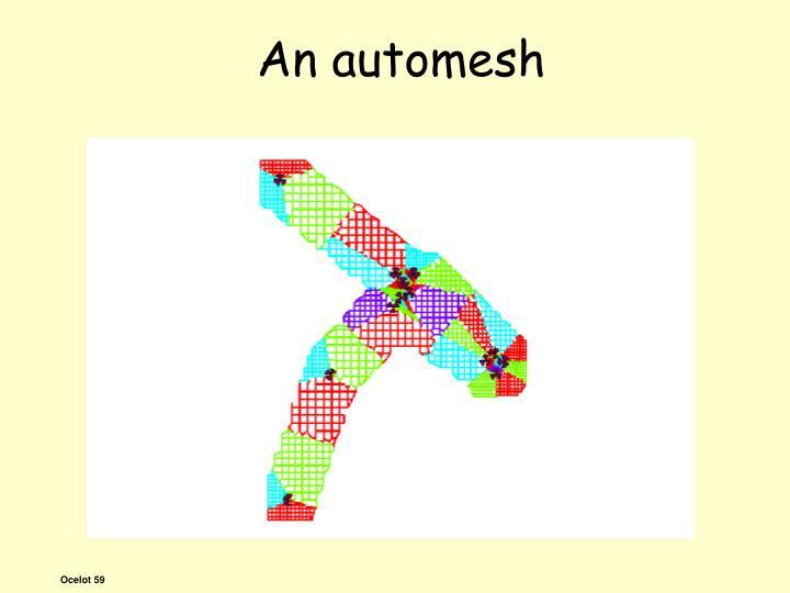 An automesh