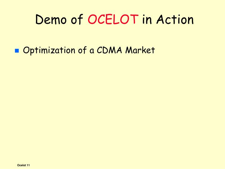 Demo of