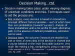 decision making ctd1