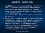 decision making ctd2