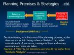 planning premises strategies ctd1