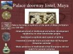 palace doorway lintel maya