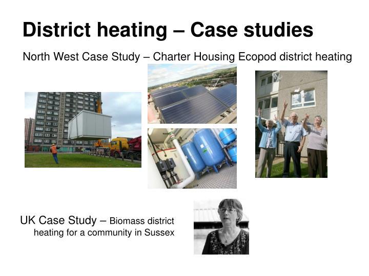 District heating – Case studies