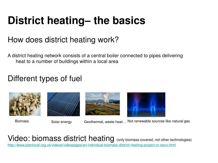 District heating the basics
