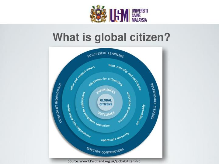 What is global citizen?