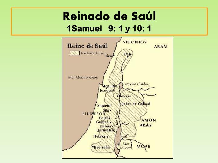 Reinado de Saúl
