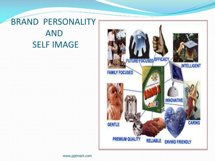 brand personality and self image n.